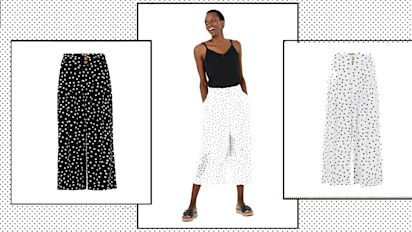 M&S' sell-out polka-dot culottes are back - but with a twist