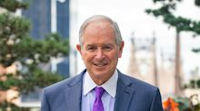 Steve Schwarzman Maps an Arc From Mowing Lawns to Advising Trump