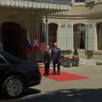 Russian President Putin Arrives for Meeting With Biden