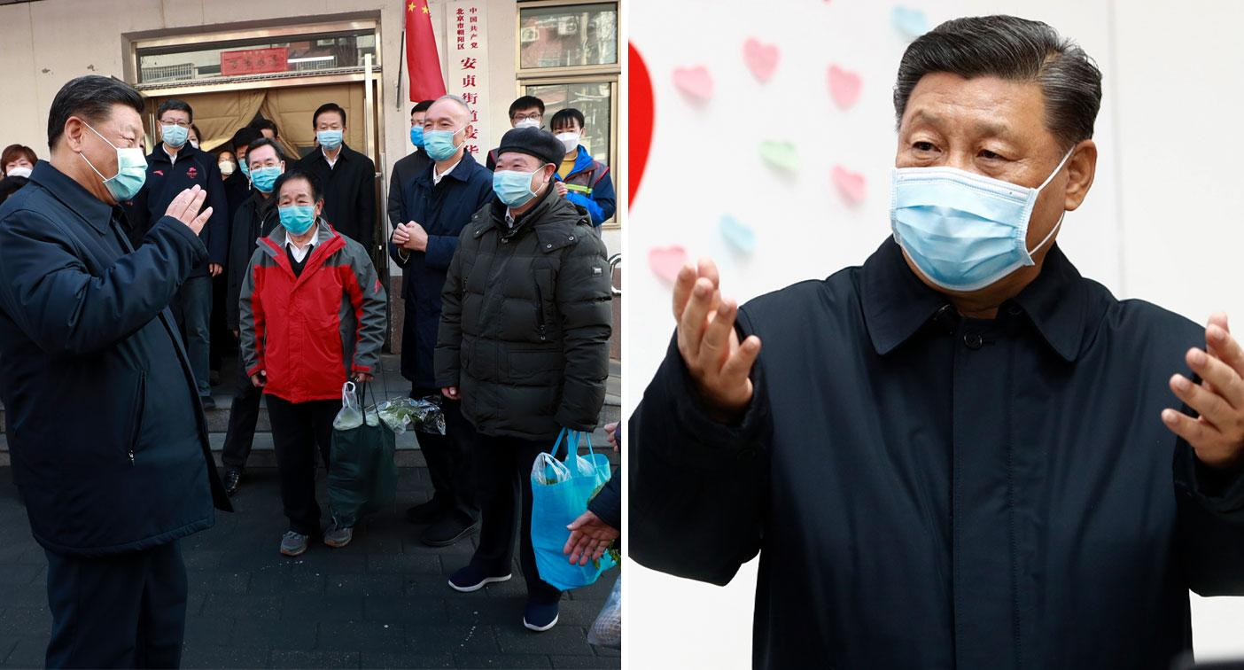 Chinese President's stark admission about coronavirus crisis