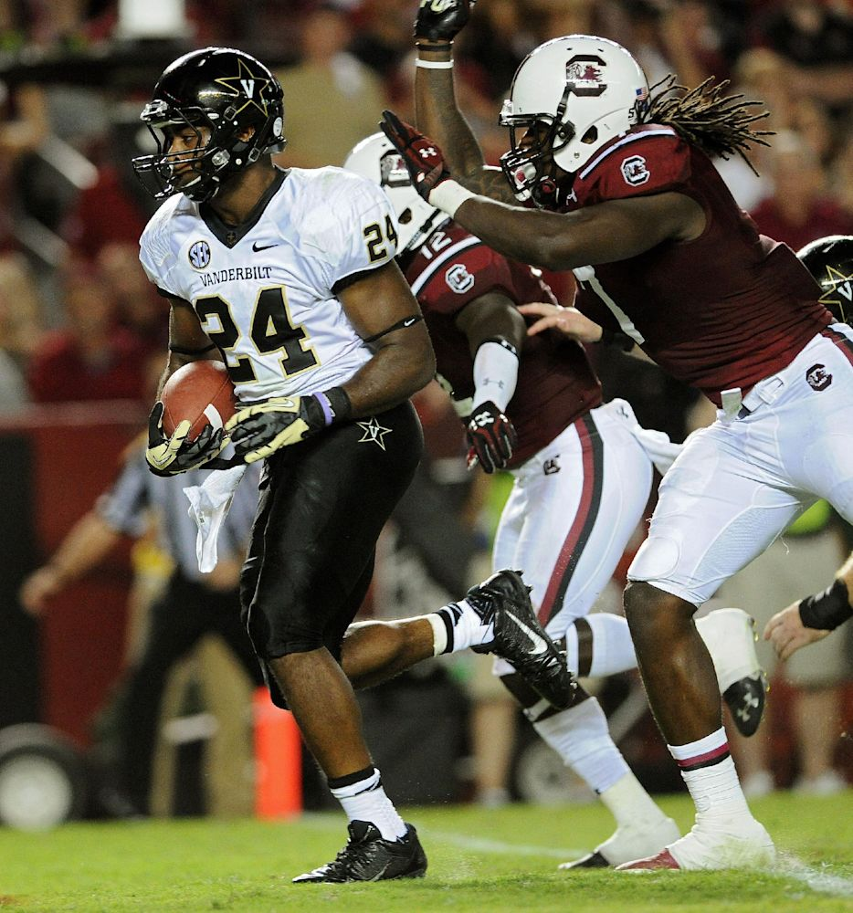 South Carolina overcoming defensive injuries