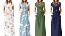 Flash sale: Fall's most 'perfect' maxi dress 'feels like pajamas' is just $20