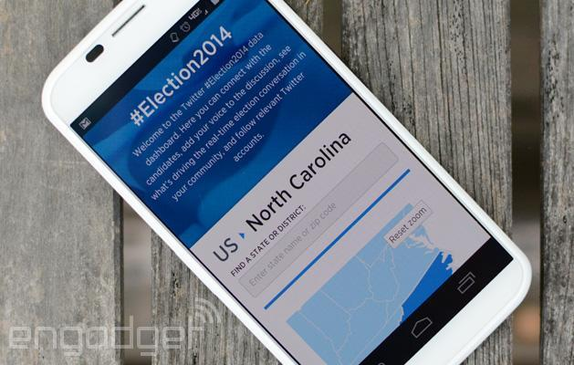 Twitter keeps you up to date on the 2014 midterm elections
