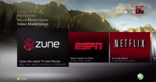 Rumor: Zune Marketplace revamped on Xbox 360 as streaming video service