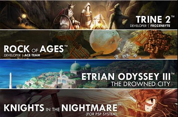 Trine 2 revealed as part of Atlus E3 lineup