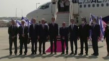 Israeli, U.S. officials take off to UAE