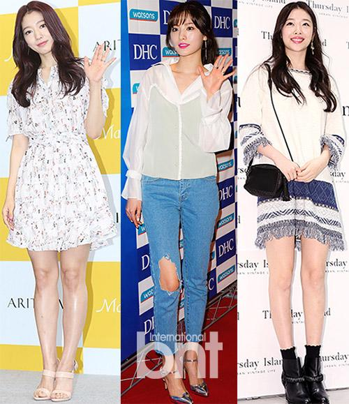 The Styles of Park Shin Hye- Nana- Sulli in Fan Signing Events