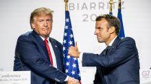 Macron und Trump streben Abmachung zu Digitalsteuer an