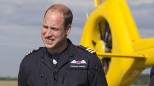 Prince William keen to return to air ambulance amid coronavirus