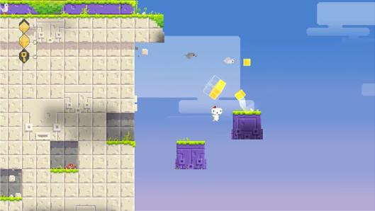 Gain some perspective with this new Fez trailer