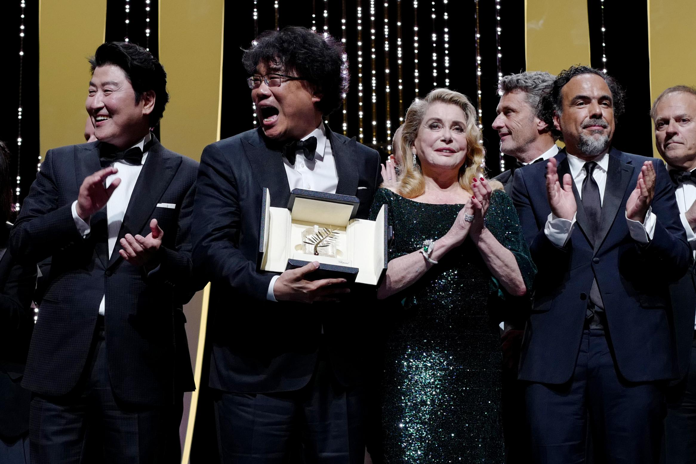 Parasites', South Korean comedy about class rage, wins Cannes gold