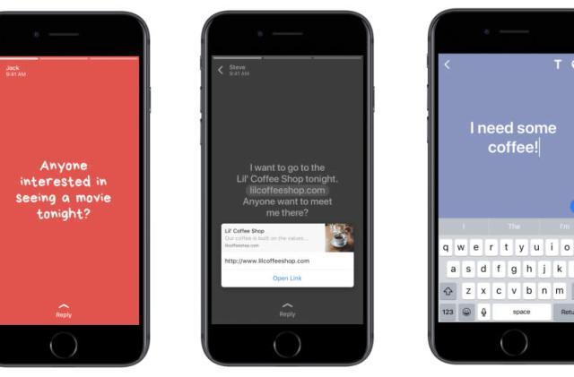 WhatsApp borrows Facebook's colorful status updates