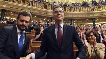 Pedro Sánchez, investido Presidente del Gobierno por solo dos votos