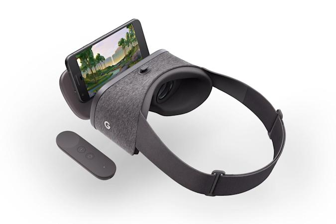 Google $80 Daydream VR headset is soft and self-contained
