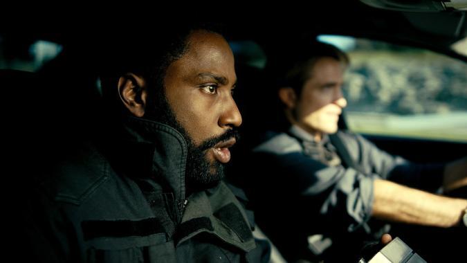 John David Washington and Robert Pattinson in 'Tenet'