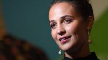 Alicia Vikander tells film crews her sex scenes are a 'one-take' job
