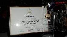 Spirit AeroSystems Prestwick, Scotland Site Wins Employer of the Year Award