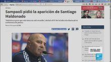 """""""Où est Santiago Maldonado ?"""""""