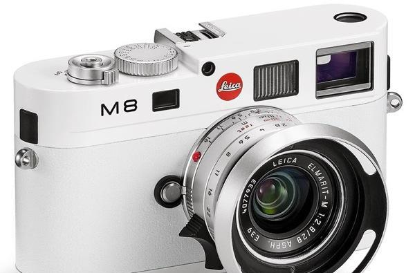 Leica M8 Special Edition White on sale in June for a very special $9,000