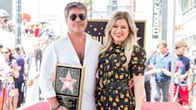 Simon Cowell calls Kelly Clarkson one of the 'nicest people I've ever met' in sweet 'American Idol' reunion