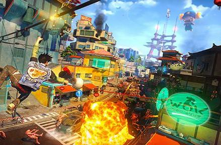 New weapons join Sunset Overdrive in action hit's first DLC