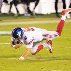 How fast — and slow — did Daniel Jones go on his 80-yard run?