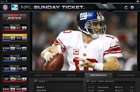 DirecTV's NFL Sunday Ticket To-Go floods mobile app stores everywhere