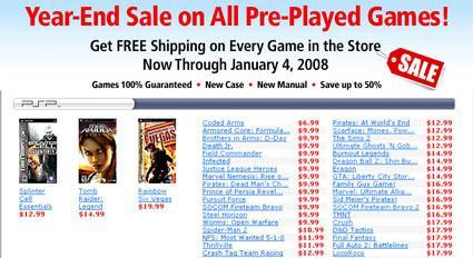 Deal of the Day: Cheap PSP games at Gamefly