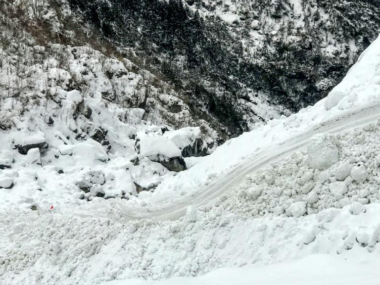 The valley in the Annapurna mountain region where the avalanche struck