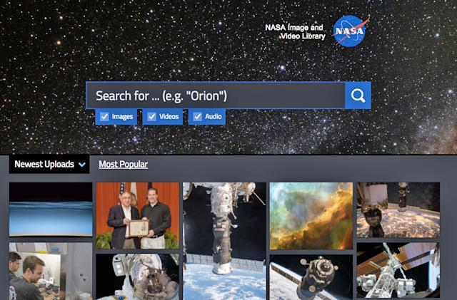 NASA made it easy for everyone to trawl its media archives