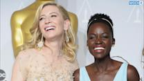 Cate Blanchett, Lupita Nyong'o Make Vanity Fair's Best Dressed List