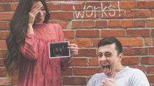 Noivo paraplégico anuncia gravidez considerada impossível e diverte a internet
