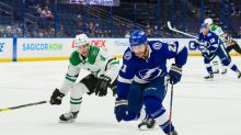 Dallas Stars at Tampa Bay Lightning: the final home game of the regular season