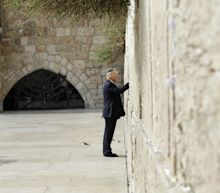 Donald Trump becomes first sitting US president to visit Western Wall