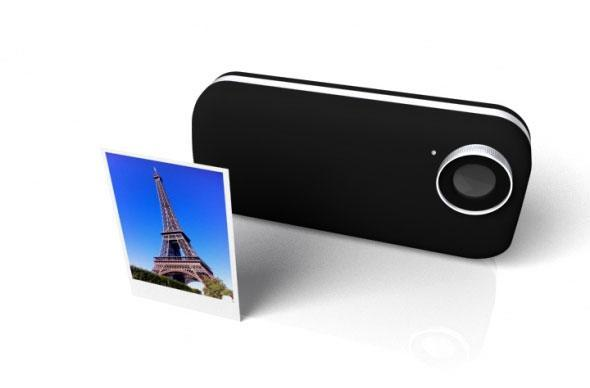 iPhone becomes an instant photo printer in this concept design