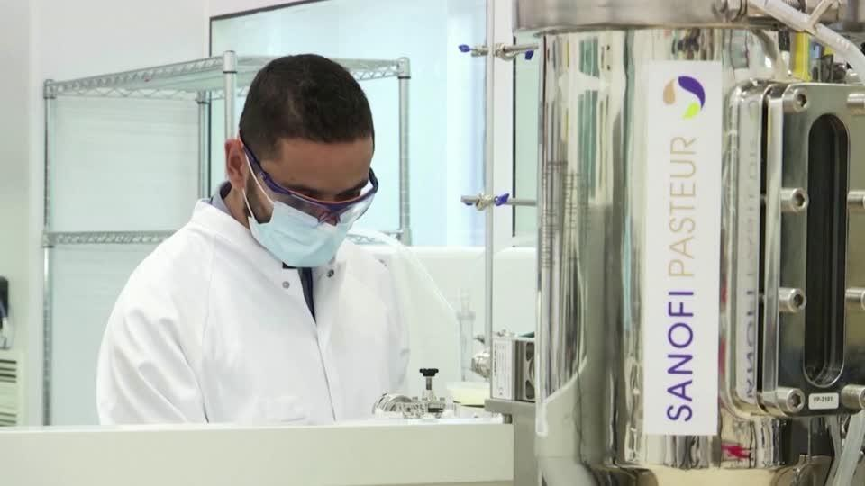 Sanofi eyes vaccine approval by early 2021 Video