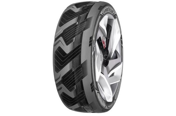 Goodyear's working on an energy-harvesting tire