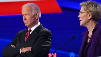 Biden's attacks on Warren draw complaints of sexism