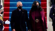 Barack Obama Had The Best Reaction To Michelle Obama's Inauguration Hair And Belt Styling