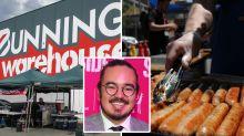 Celebrity chef's 'genius' Bunnings sausage scheme