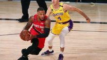 Basket - NBA - NBA: Damian Lillard quitte la bulle pour faire examiner sa blessure à un genou