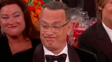 Tom Hanks and Leonardo DiCaprio React to Ricky Gervais' Scathing Golden Globes Opening Monologue