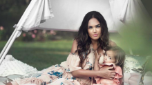 Tamara Ecclestone divides social media users with breastfeeding selfie