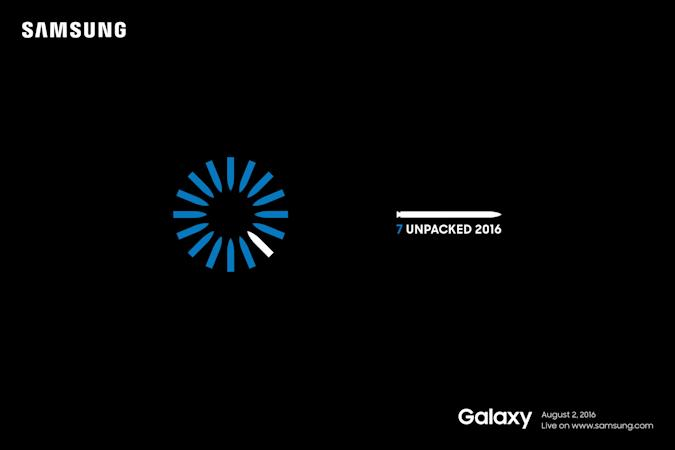 Samsung schedules Galaxy Note 7 event for August 2nd