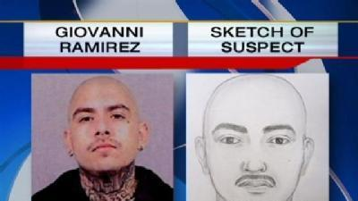 Stow Attacker Suspect Compared to Police Sketch