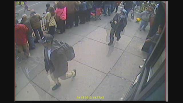 Boston Bombings - Surveillance Video