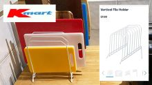 'Clever' Kmart chopping board storage hack saves shopper $143