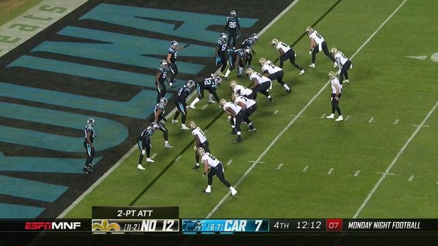 Can't-Miss Play: Donte Jackson gets pick-two off Brees!