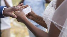Groom has no regrets over rude, argumentative wedding vows