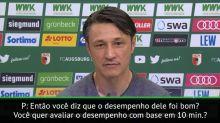 Bundesliga: Kovac sobre Müller: 'não se julga jogador por 10 minutos'